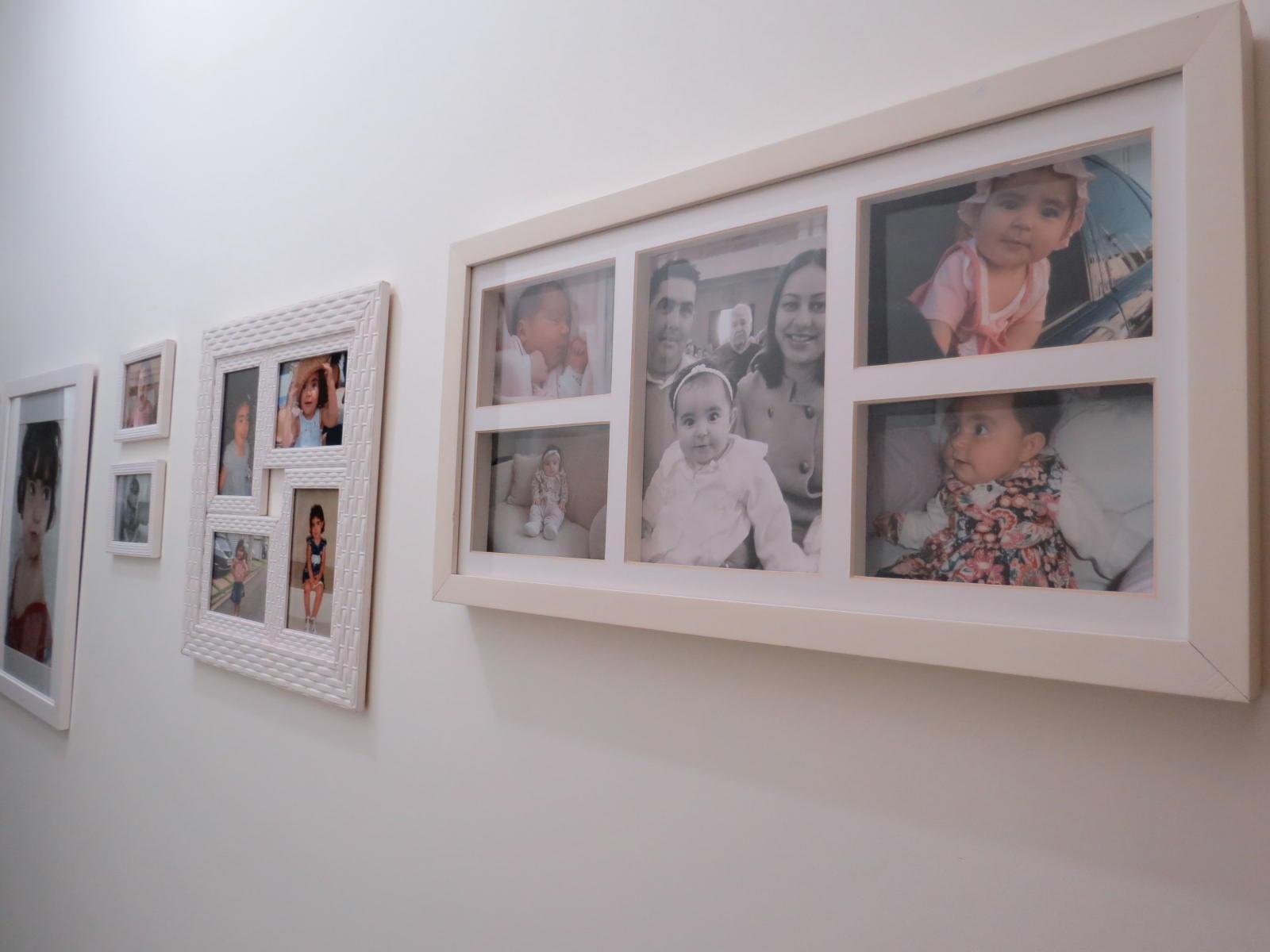 Usando quadros com fotografias