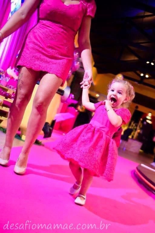 Tema Minions cor de rosa