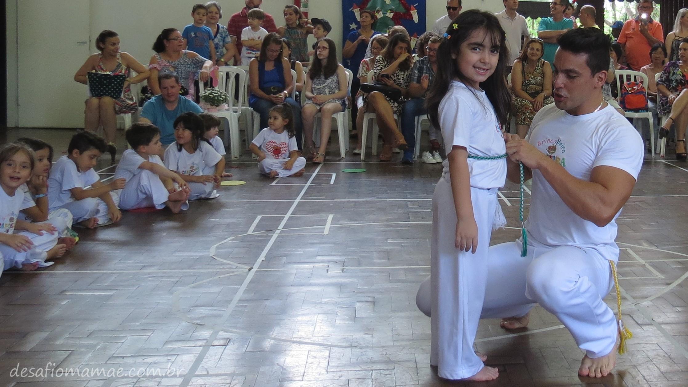 Lista: 10 motivos para seu filho(a) praticar Capoeira